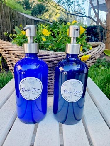 bottles courtyard